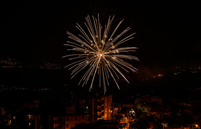 Baabdat Valley Fireworks