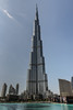 Burj Khalifa over Dubai Fountain