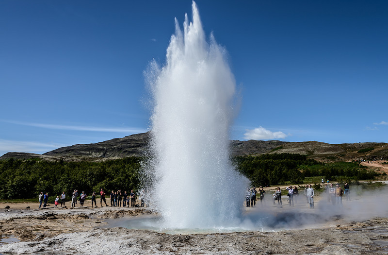 Strokkur's Eruption