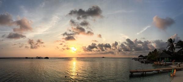 Flying Fishbone Sunset