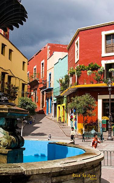 Street Scene in San Miquel de Allende Mexico