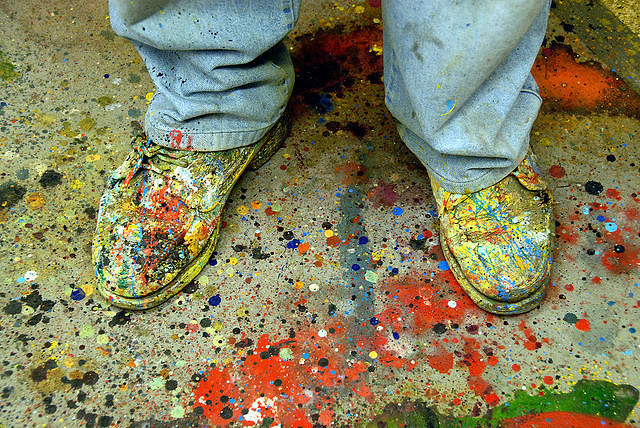 Painters Shoes