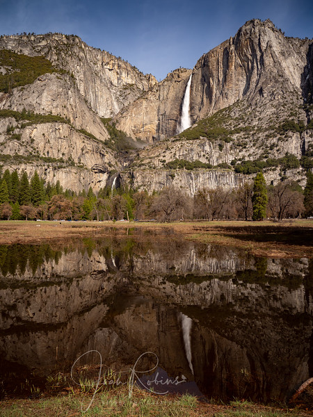 Yosemite Valley after a heavy rain