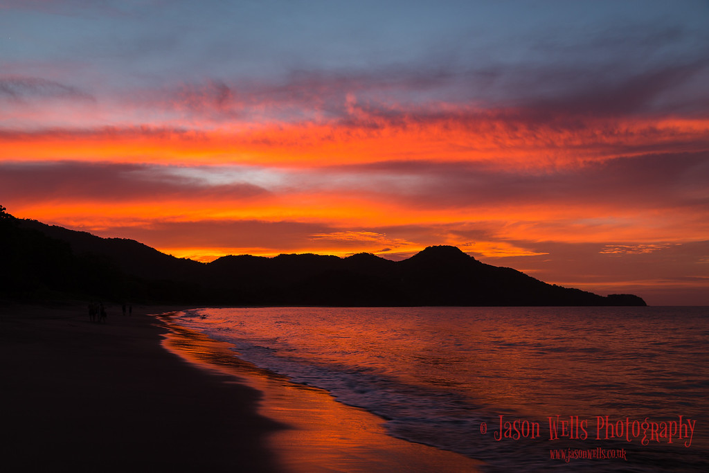 The sun goes down on Guanacaste.