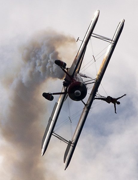Airshow Wingwalker -- Indianapolis, Indiana