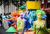Colorful Procession
