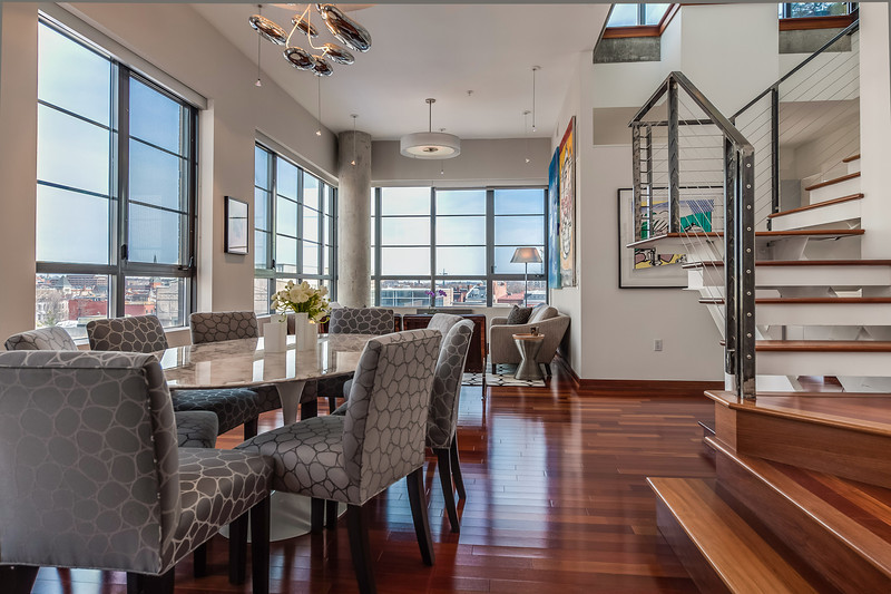Dining to Living Room