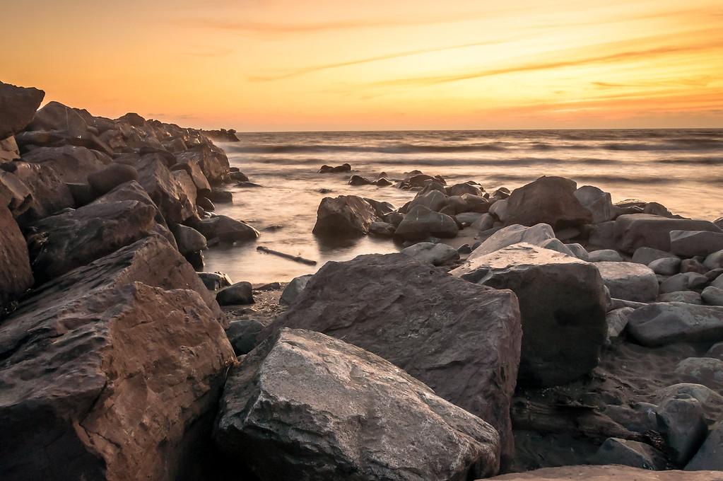 Ocean Shores Sunset