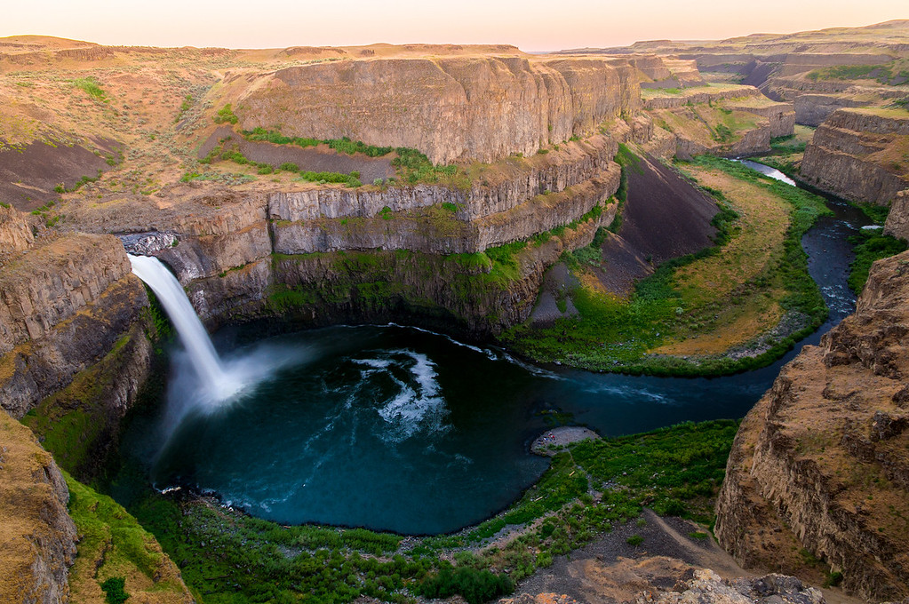 Palouse Falls in the Spring