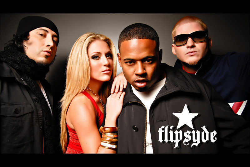 Flipsyde (Album Shoot)<br /> Copyright: Interscope Records<br /> Original Image: Calibree Photography