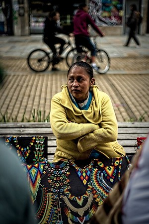Embera Chami - Bogota, Colombia