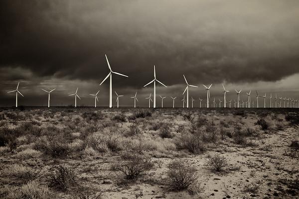 King Mountain Wind Farm - Upton County, Texas, USA