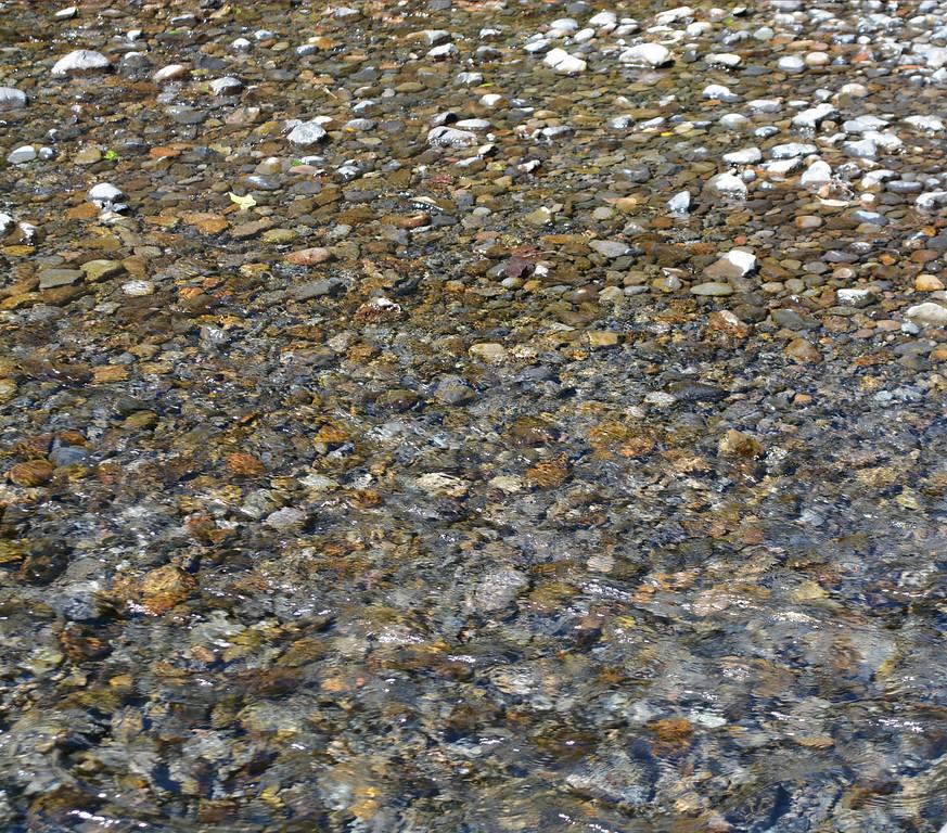 Stream at Multnomah Falls