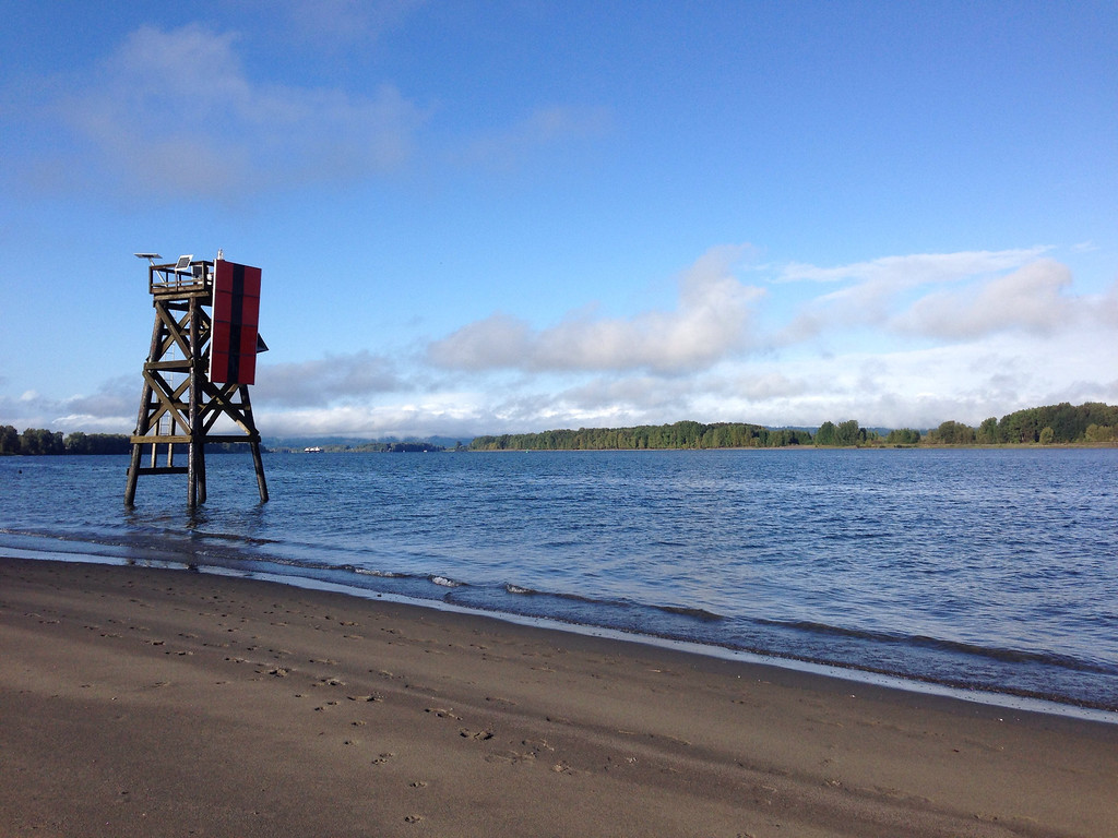 Beach at Sauvie Island, OR