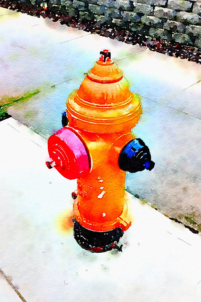 Portland Fireplug (Northside)