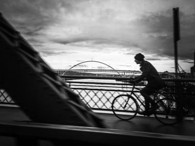 Portland Cyclist