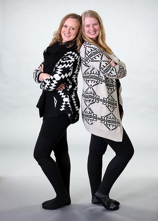 Sonja and Katie
