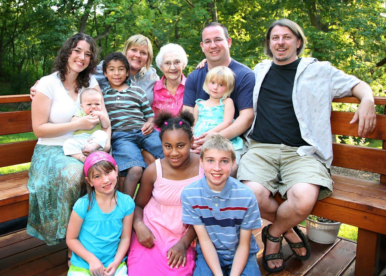 Grannie Annie and all the kids