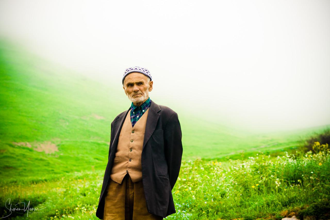 Old man at his field