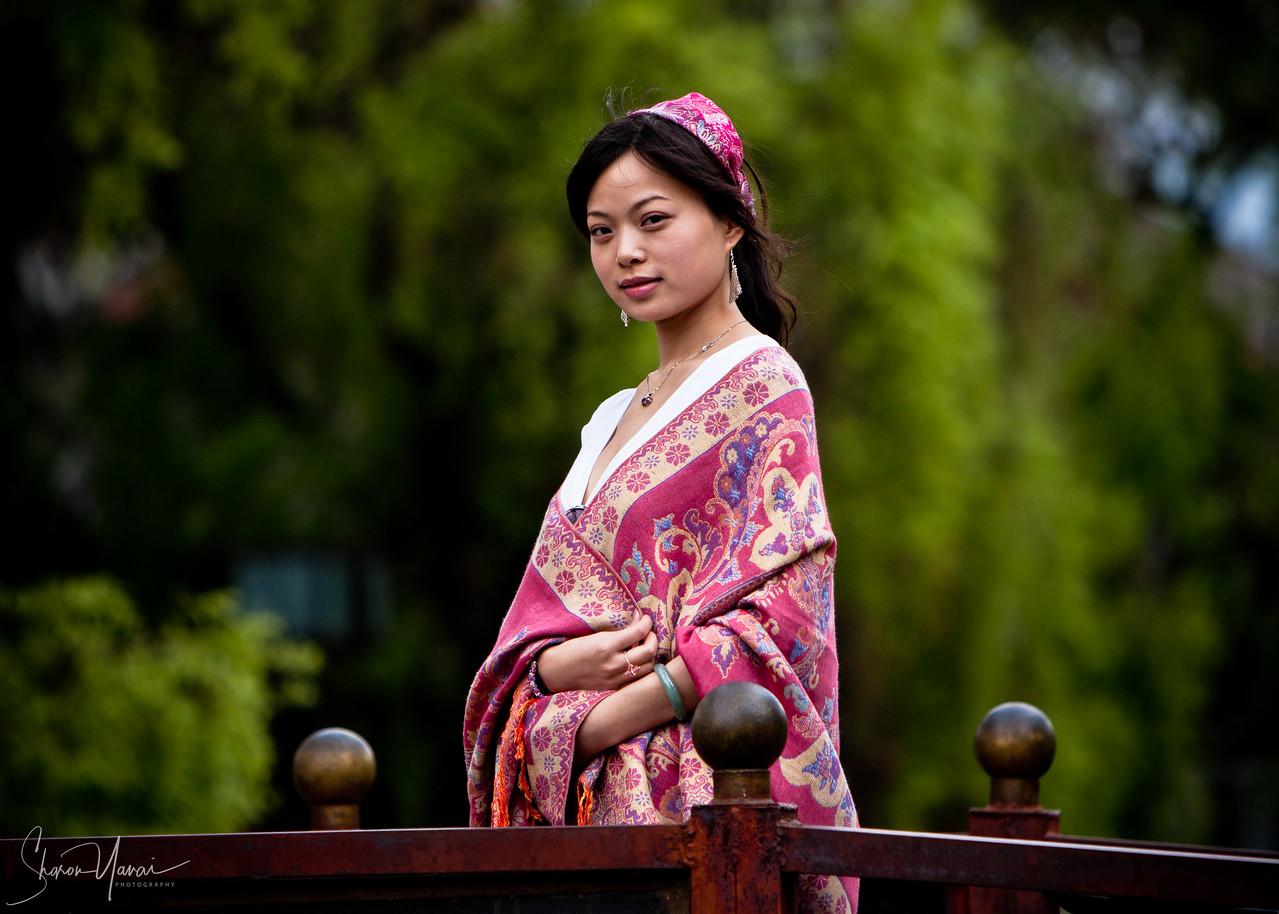 Beautiful Chinese Girl at Lijiang, China