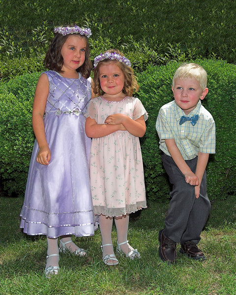 Rowe family children