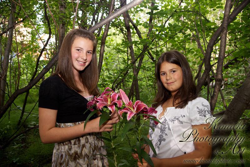 Photo Day with Olivia and Tessa