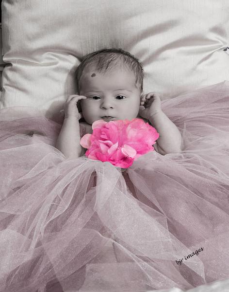 Baby Grace B&W