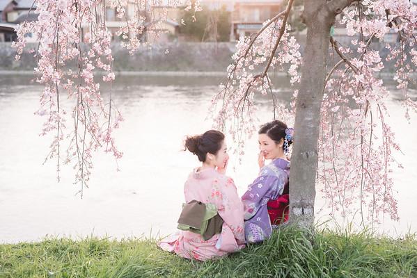 母女京都和服寫真
