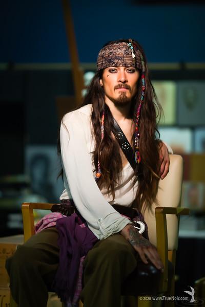 Pirate I, portrait