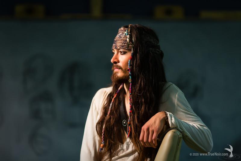 Pirate II, portrait