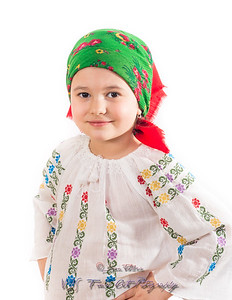 Young Girl in Traditional Custome