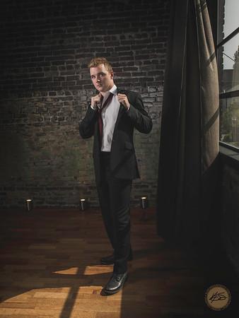 Model:  Michael Location:  Urban Light Studios, Seattle, WA