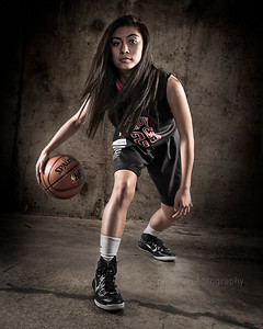 High School Sports Portrait