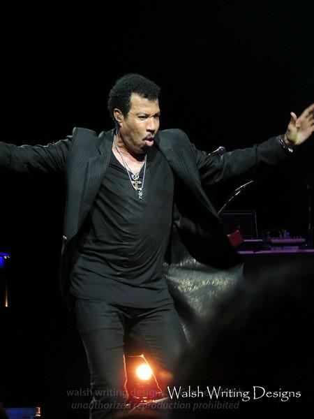 Lionel Richie concert --  August 3, 2014, The Borgata, Atlantic City, New Jersey