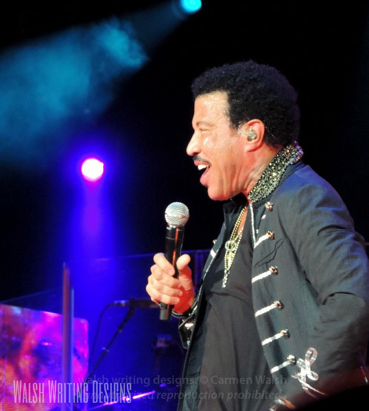 Lionel Richie concert --  July 23, 2014, Susquehanna Bank Center, Camden, New Jersey