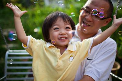 Keyra and her Dad - Kuala Lumpur, Malaysia