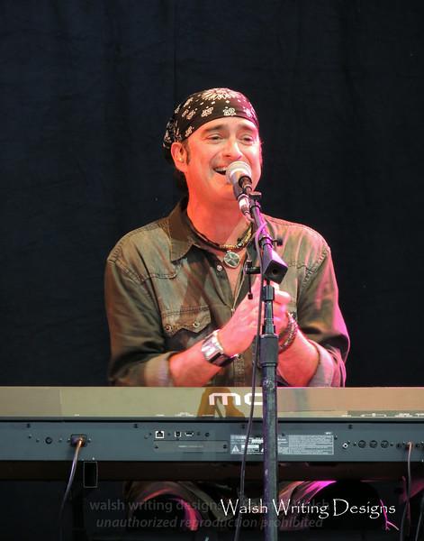 Timothy Drury -- Don Felder concert, June 20, 2014, Jiffy Lube Live, Bristow, Virginia