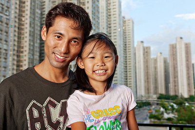 Father and Daughter - Hong Kong