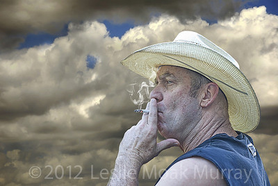 Cowboy-Smoking--Cigarette