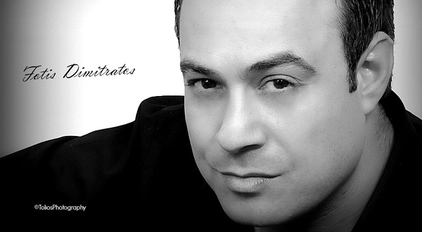 Greek Singer in New York City Fotis Dimitratos
