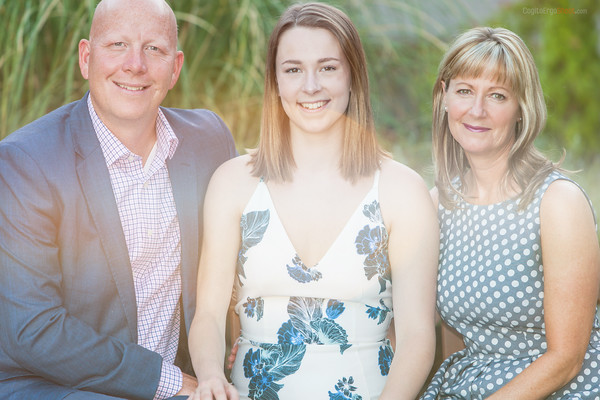 The Moores: Greg, daughter Madison and Erin