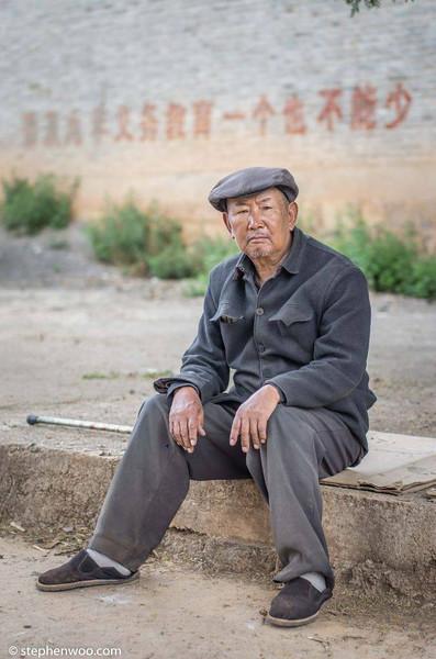 Yulong Village man, 玉龍村民 Taken in Yulong, Yunnan, China, 攝於中國雲南玉龍, 纳西族自治區