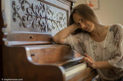 Yulianna Kukharenko-Marusina (Canada, Ukraine) Actress / Model / Dentist  Photo by: Stephen Gurie Woo, 胡斯翰 Photos captured by Leica T camera with Leica Summilux-M 50mm F1.4 ASPH... See More — with Yulianna Dolgonos at Richmond Hill United Church