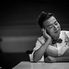 Peco Chui, 徐偉賢 (Hong Kong, 香港)  Music composer, singer in Hong Kong.   香港唱作音樂人,曾為多位著名歌手撰寫歌曲,包括陳奕迅《歲月如歌》、周柏豪《相安無事》,鄭秀文《每天愛你少一些》、謝安琪《活著》、何韻詩 《願我可以學會放低你》  Photo: Stephen Gurie Woo 胡斯翰  www.stephenwoo.com  Camera : Leica T (TYP701) camera with Leica 50mm F1.4 Summilux-M ASPH Lens  Photographic equipment sponsored by Leica Camera AG (North America) special thanks: Downtown Camera (Canada), One-Plus Fine Art Space (Hong Kong)  #stephengwoo #胡斯翰 #stephengwoophotography #leica #leicat #leicam #leicacamera #50mm #summilux #stephengwooleicaportraiture #hongkong #pecochui #徐偉賢 — with Peco Chui and Celine Cheung at One-Plus Fine Art Space