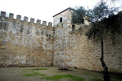 Inner courtyard - Castle of São Jorge, Lisbon