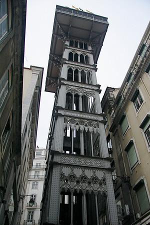 Santa Justa Elevator - Lisbon