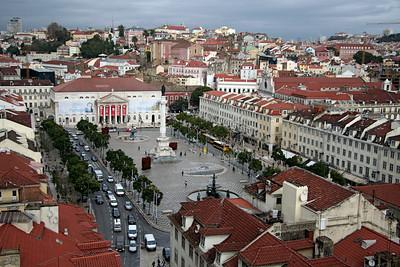 City square - Lisbon