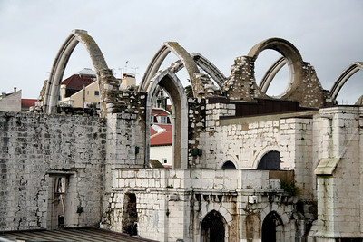 Ruins of Carmo Convent - Lisbon