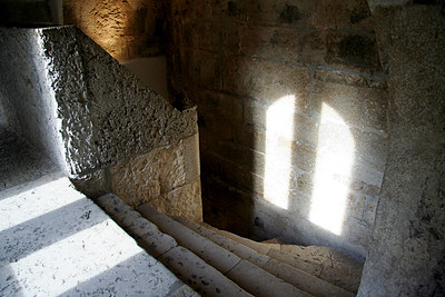 Light and staircase - Belém Tower, Lisbon