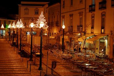 Cafés in town square - Tavira